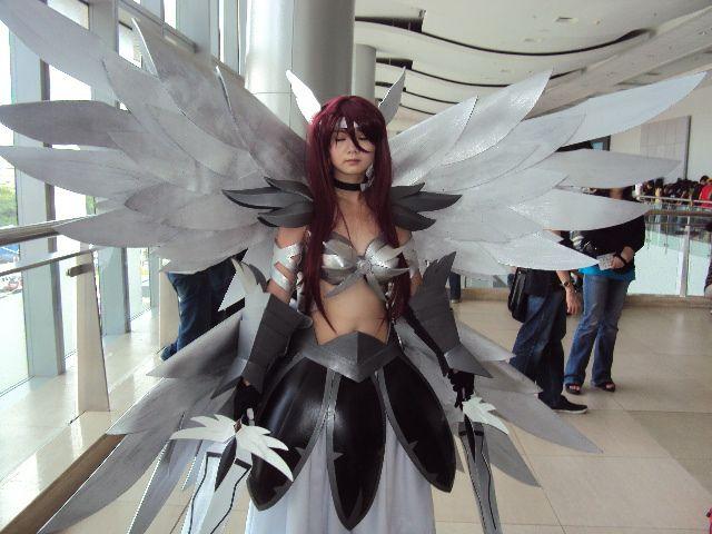 Erza Scarlet Heaven Wheel Armor Www Picturesboss Com