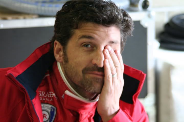 Grey's Anatomy - McDreamy  Patrick Dempsey / Derek Shepherd  #35: How can a man look THAT hot in a racing suit?! *Thud* - Page 7 - Fan Forum