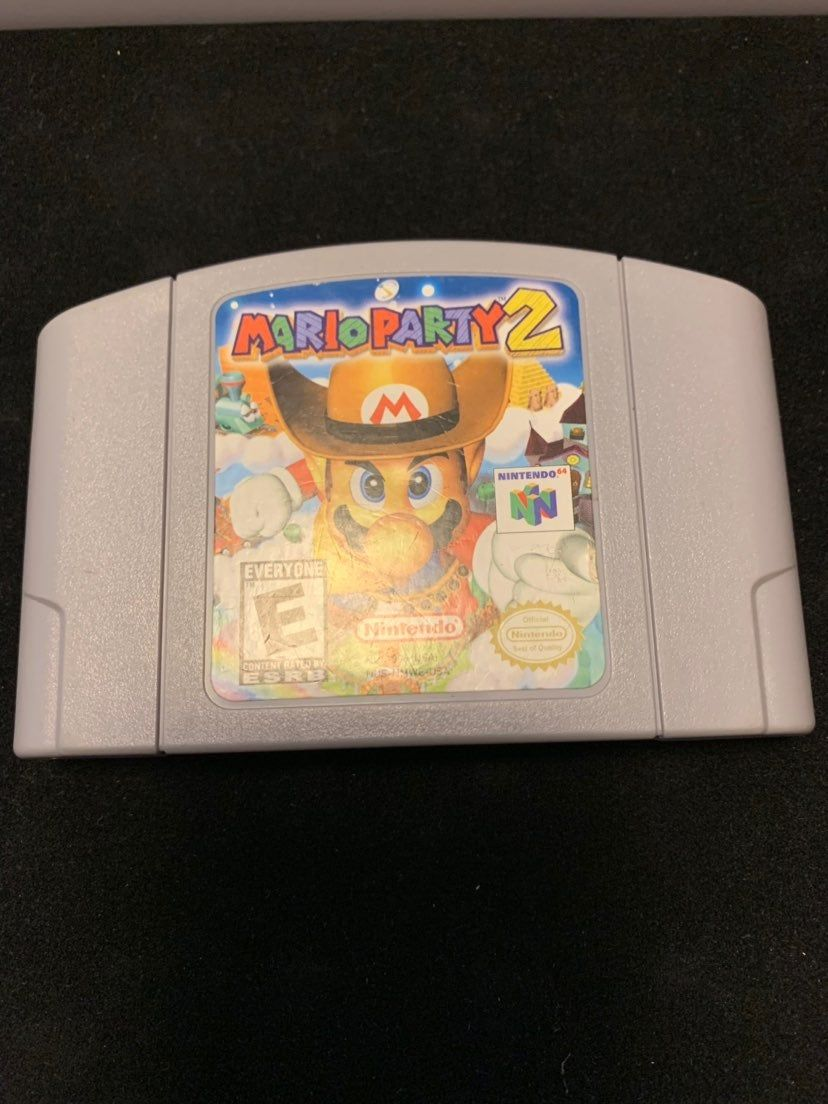 Nice Clean Copy Of Mario Party 2 Please Message For Any Questions