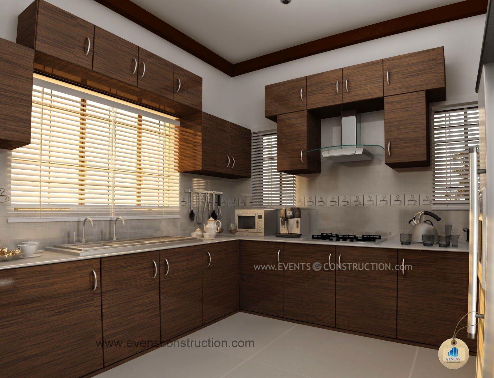 modern kerala kitchen design with images  kitchen