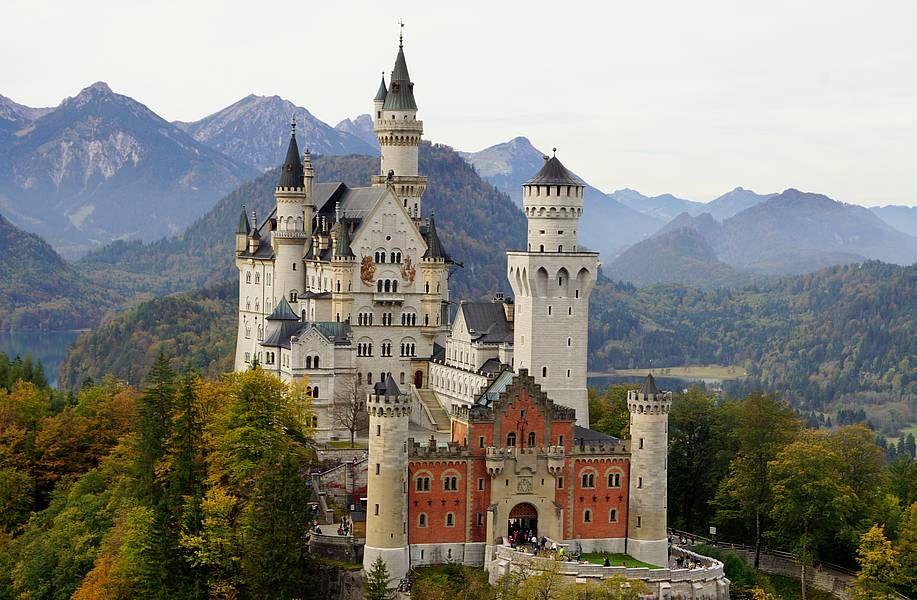 Schloss Neuschwanstein In Schwangau Allgau Bayern Mit Bildern Schloss Neuschwanstein Neuschwanstein Burgen Und Schlosser