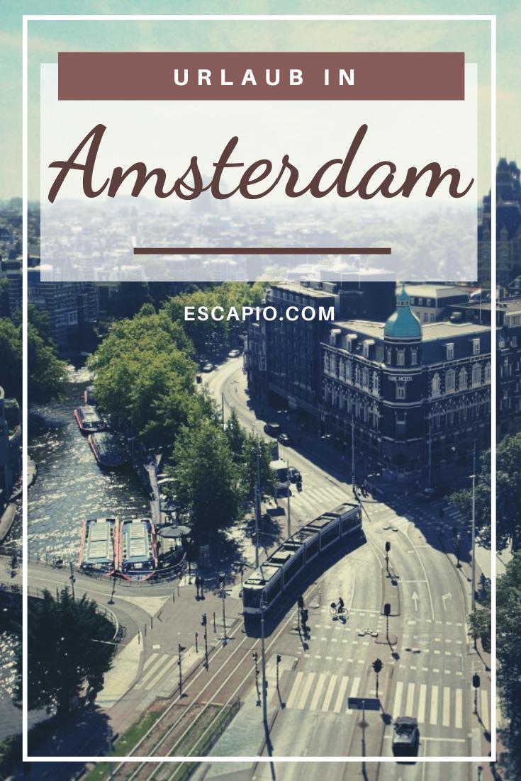 Bunte Blumenmärkte, schwimmende Busse und hochkarätige Museen – Amsterdam ist ein wunderschönes Urlaubsziel. #amsterdam #stadt #reisen #urlaub #hotels