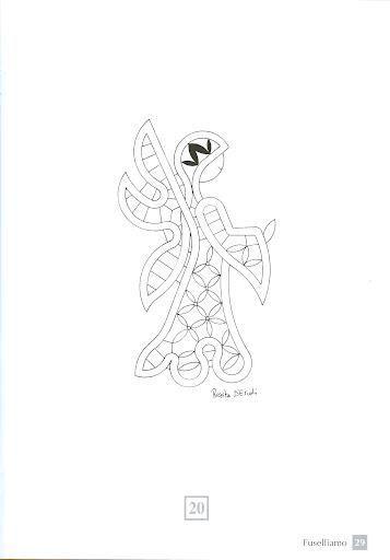 Pin von Gerri auf 1bobbin lace patterns and instructions | Pinterest ...