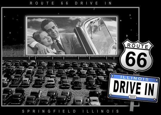 route 66 attractions illinois | Route 66 Drive In Theater - Attractions/Entertainment - 1700 ...