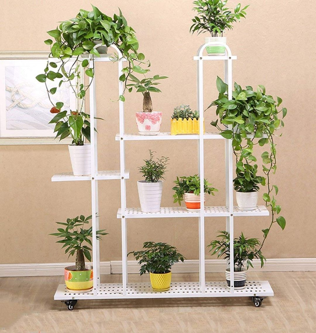 12 Beautiful Ornamental Plant Rack Designs For Your Comfortable Home Flower Stands Ornamental Plants Plant Decor
