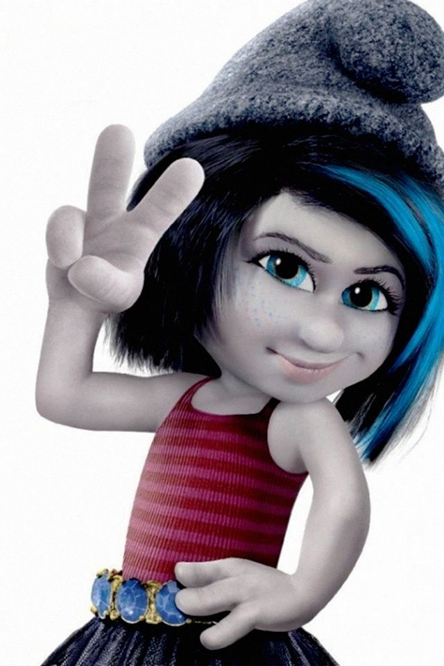 i swear if thalia was a smurf she would be vexy or christina