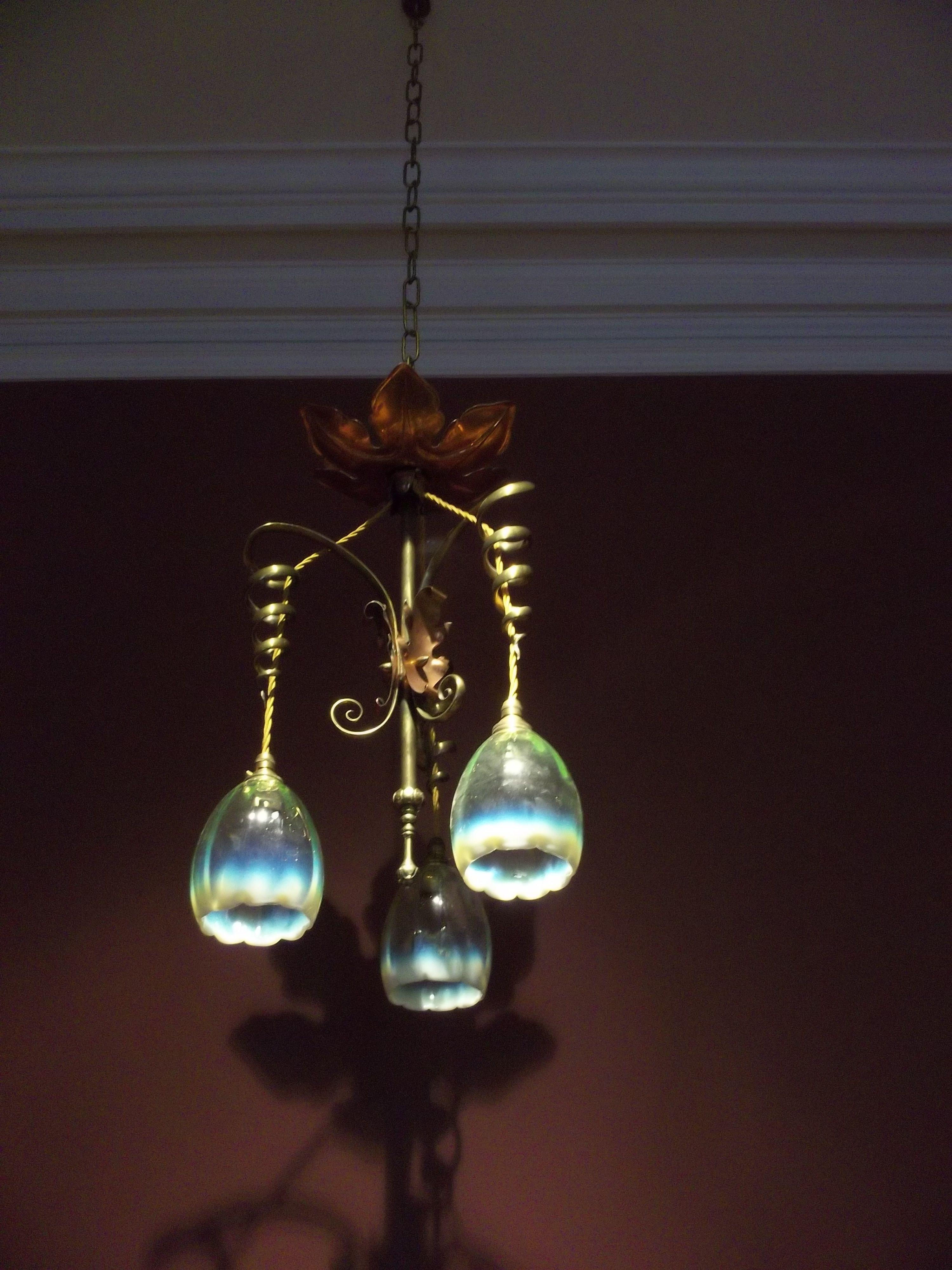 Art Nouveau Light Fixtures Google Search