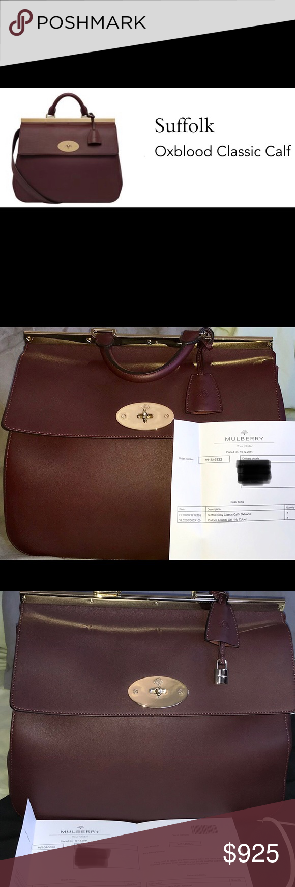 2303d246d0d Mulberry Suffolk Satchel - Authentic, like new in 2018   My Posh ...