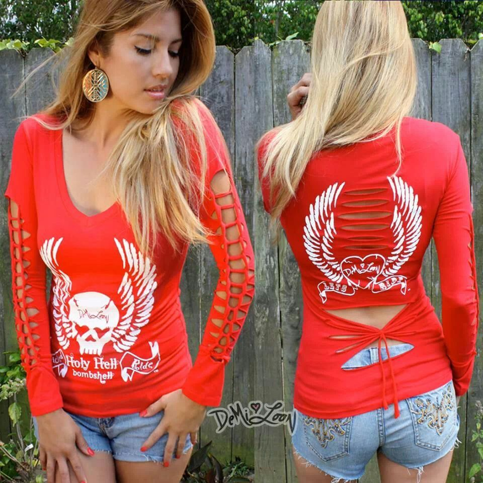 Demi loon (With images) Women biker clothes, Sinful