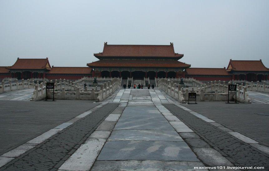 Запретный Город в Пекине. | Пекин, Город и Красные цветы