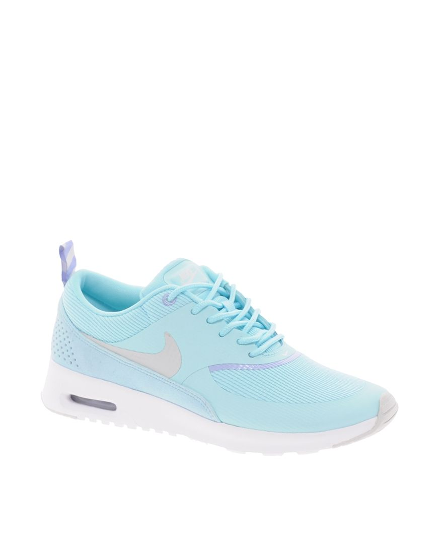 sale retailer f2887 c87a3 Nike Air Max Thea Blue Trainers