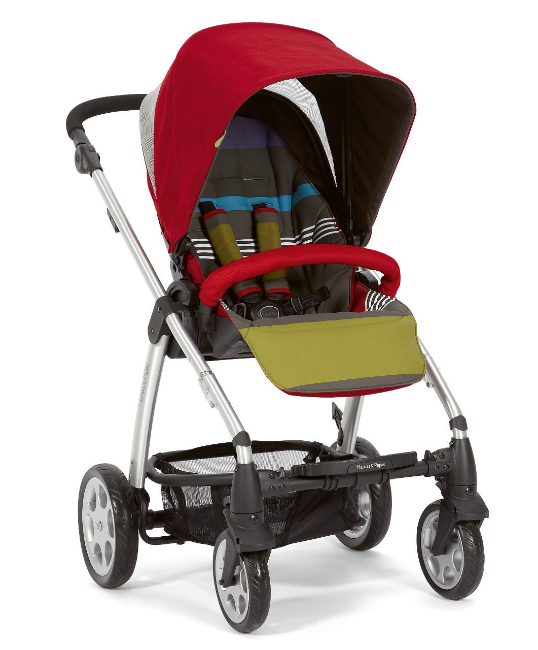 Sola Pushchair 2 in 1 Red Prams Mamas & Papas Baby