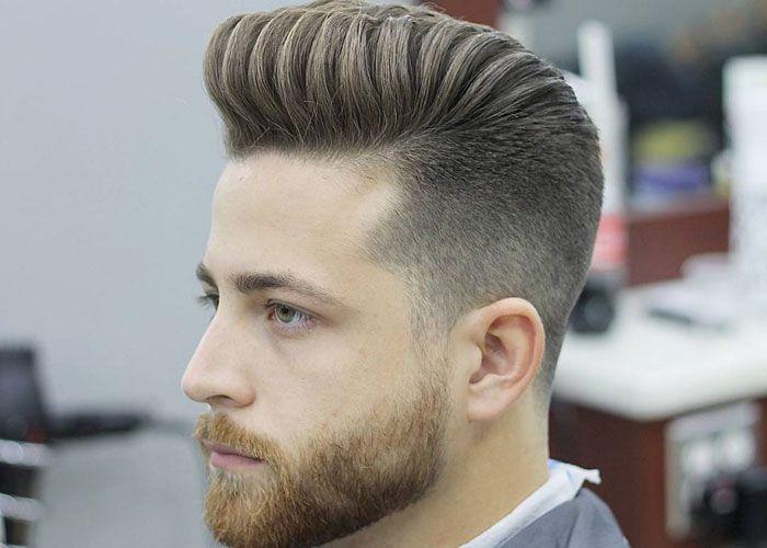 21 Best Pompadour Fade Haircuts Pompadour Fade Pompadour Men