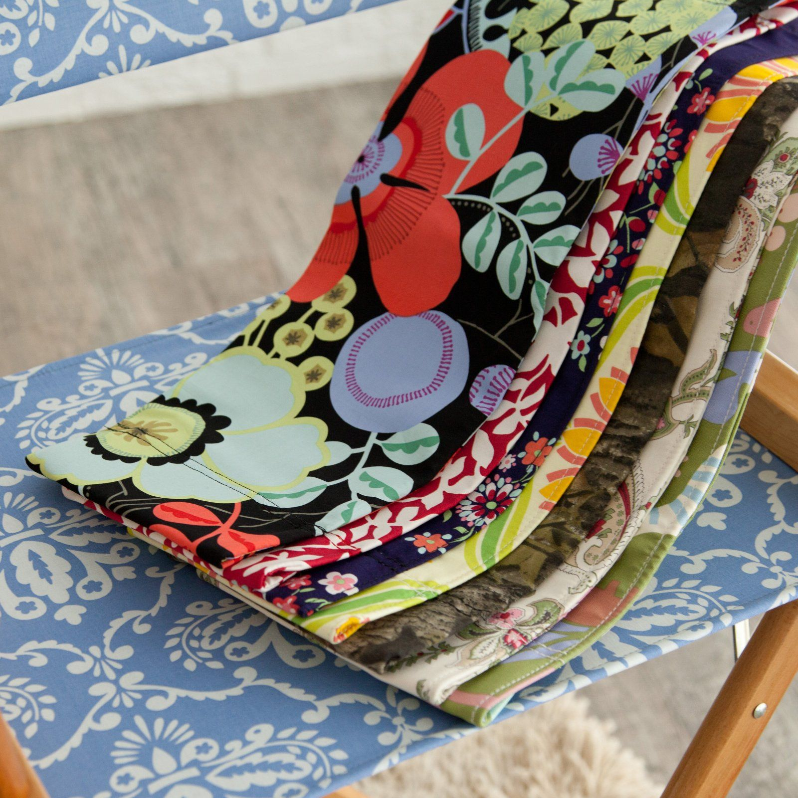 Beautiful Designer Director Chair Cover. Making These.