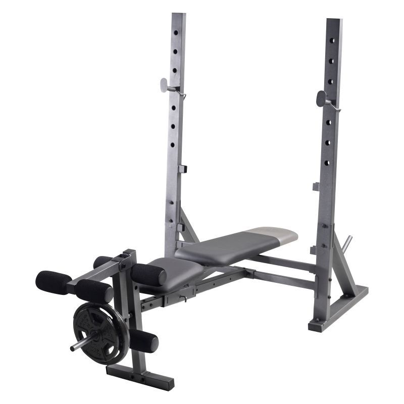 Golds gym 101 olympic weight bench olympic weights