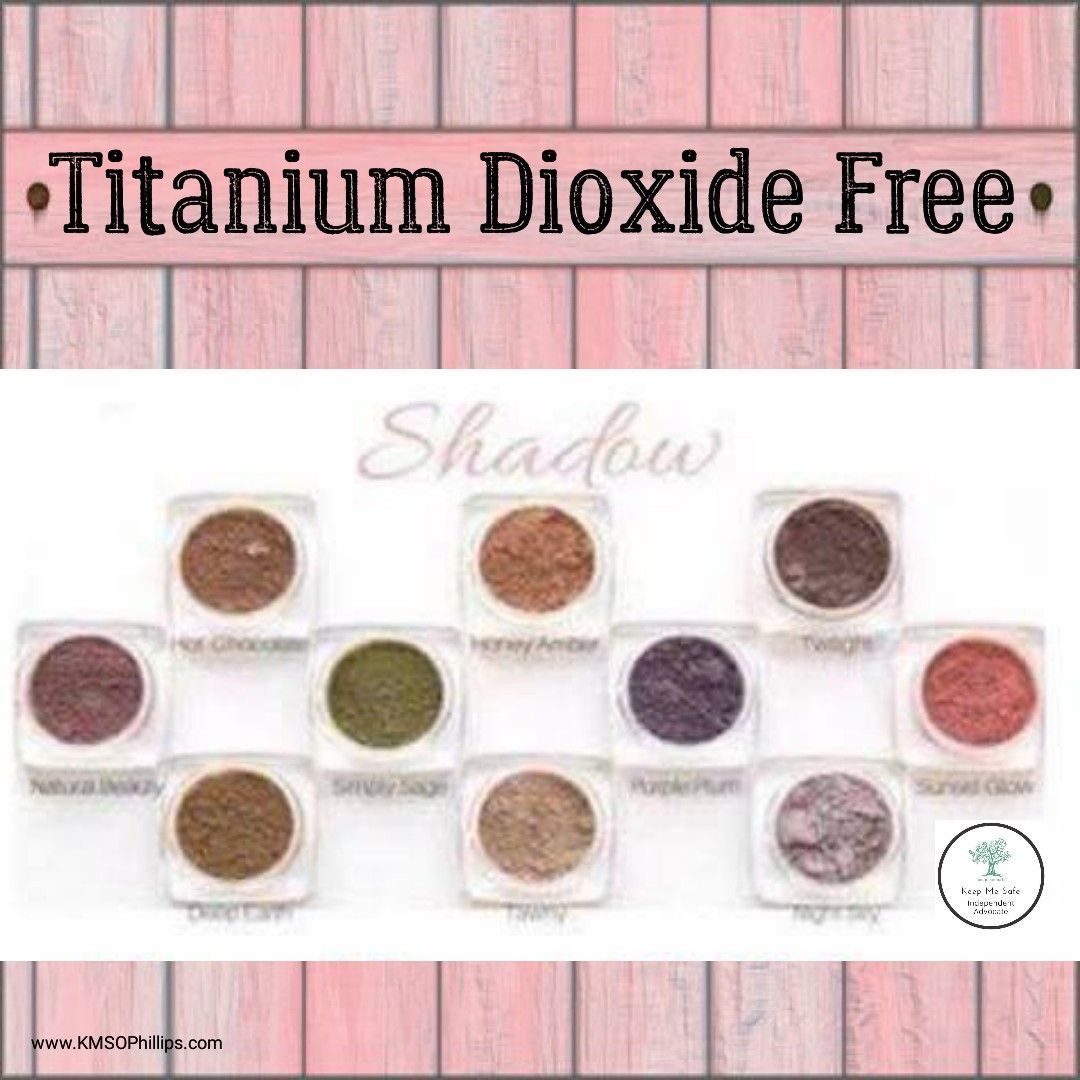 Nothing wrong with titanium dioxide unless you're allergic