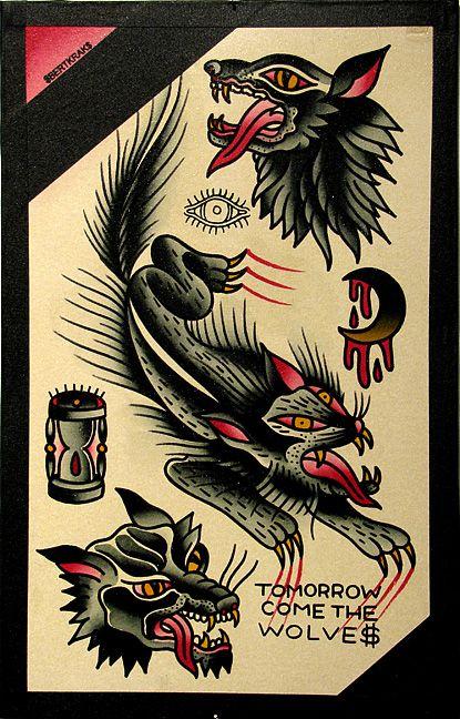 Bert Krak Tumblr Rockabilly And Retro Tattoos Traditional