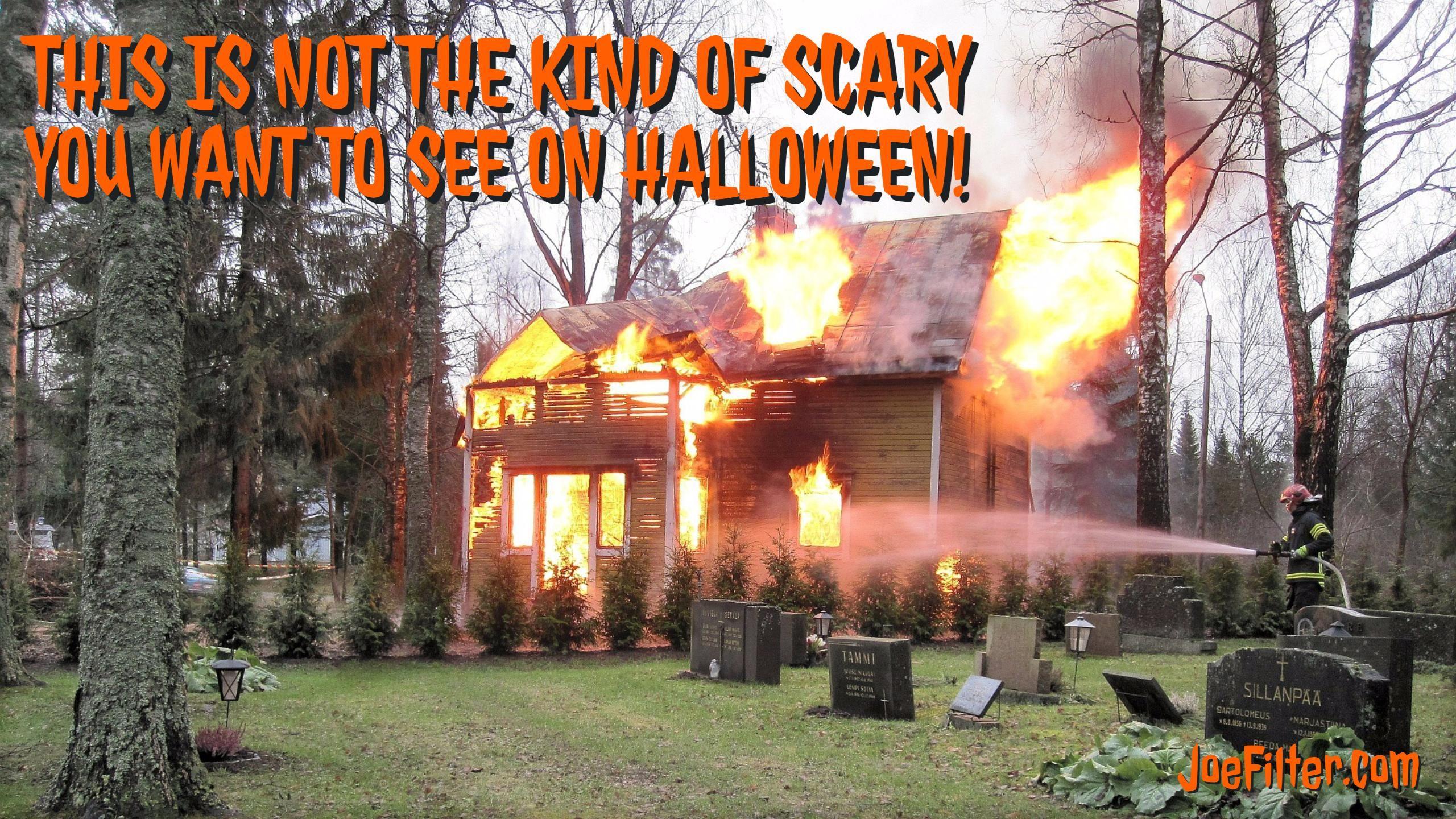 House fires are no joke! Make sure your smoke detectors
