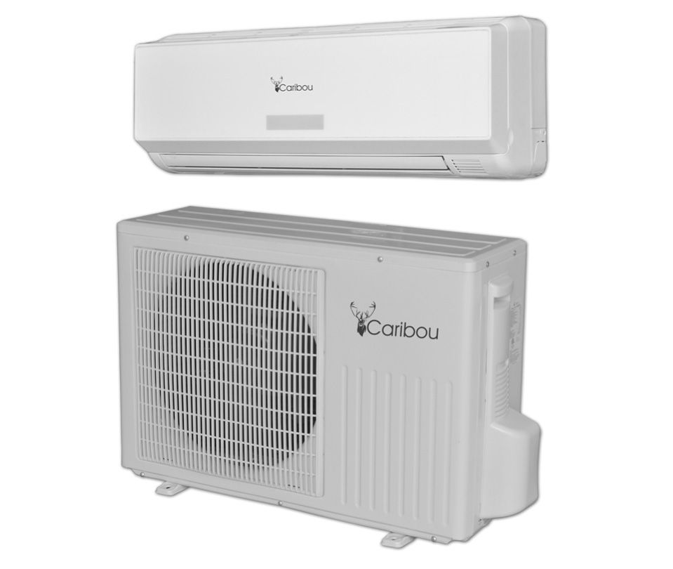 Caribou 12000 Btu Diy Quick Connect Heat Pump Soundproof Room Sound Proofing Ductless Heat Pump