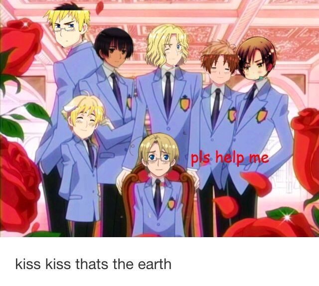 Ouran High School Host Club X Hetalia