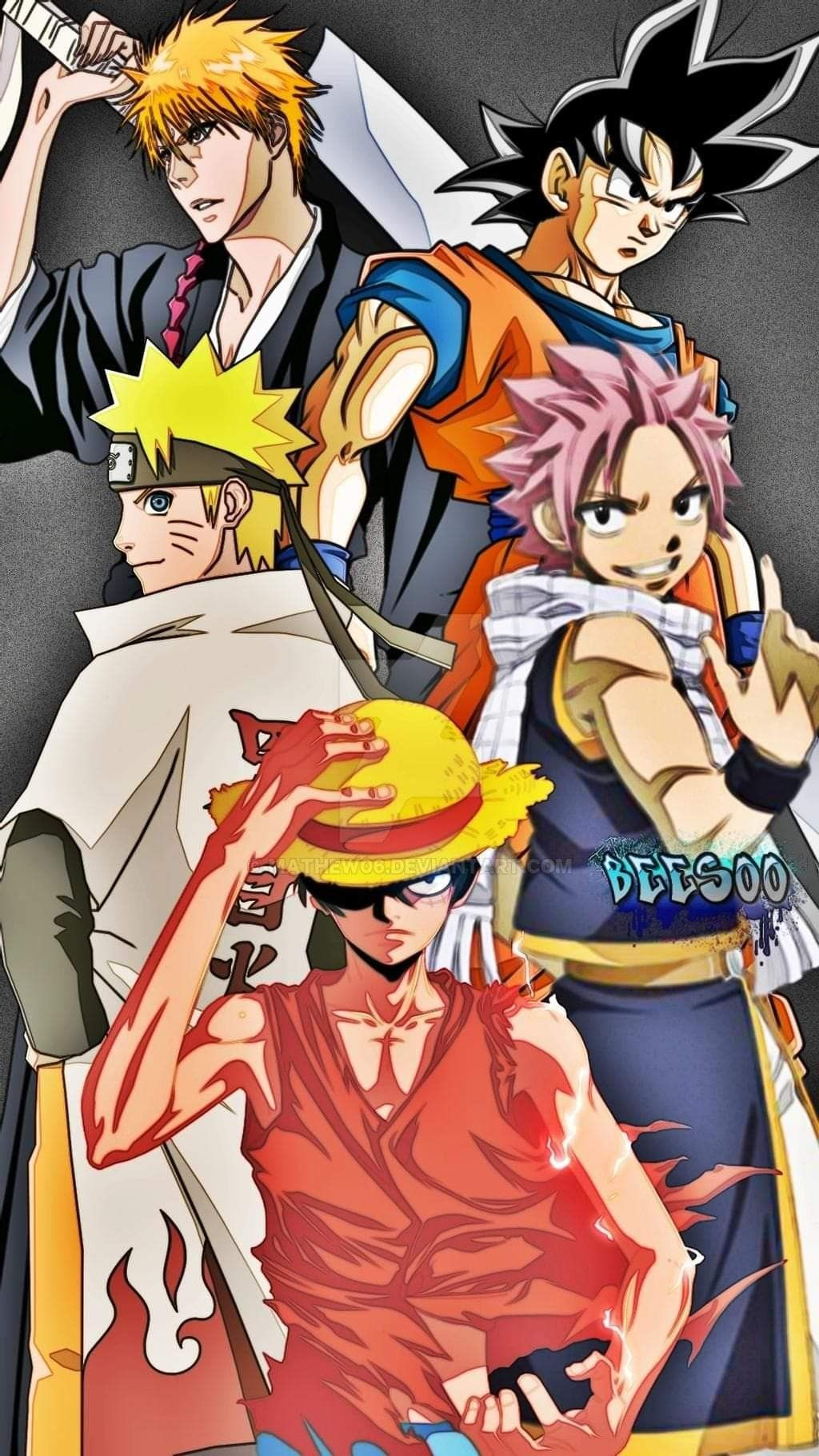 Anime Crossover Hd Wallpaper Anime Crossover Anime Comic Art Anime all in wallpaper