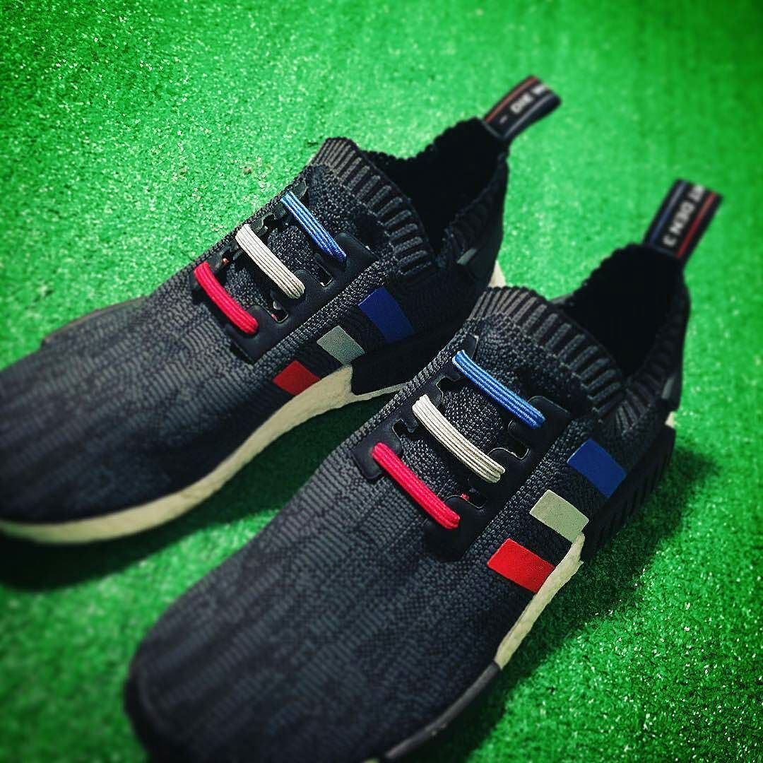 Adidas Nmd R1 Rainbow Footlocker exclusive BB4296 PK Nomar