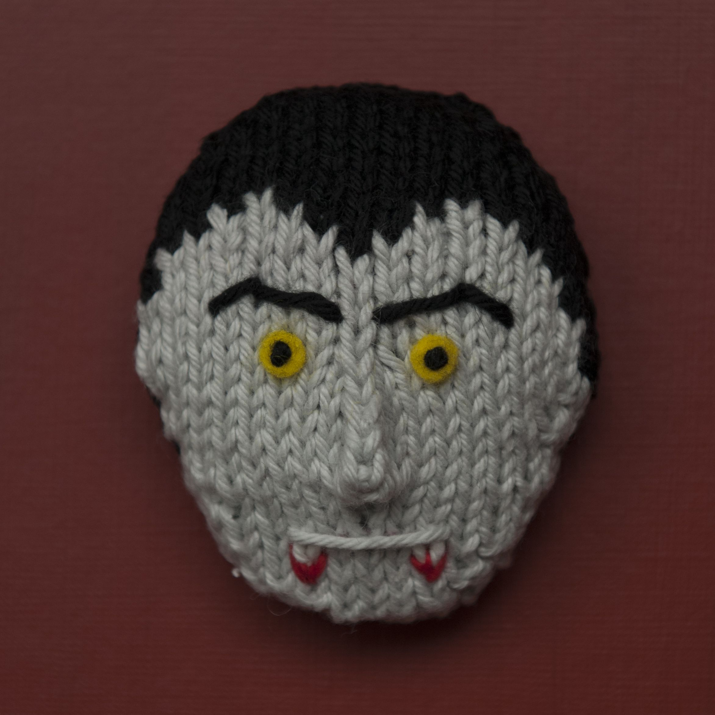 Halloween Heads 1 Knitting pattern by Squibblybups ...