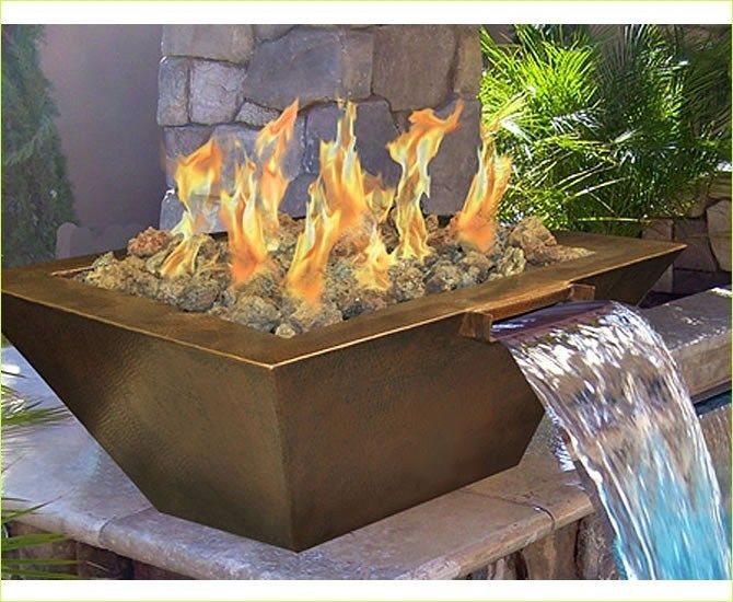 40+ Stunning DIY Fire and Water Fountain Ideas #fountaindiy