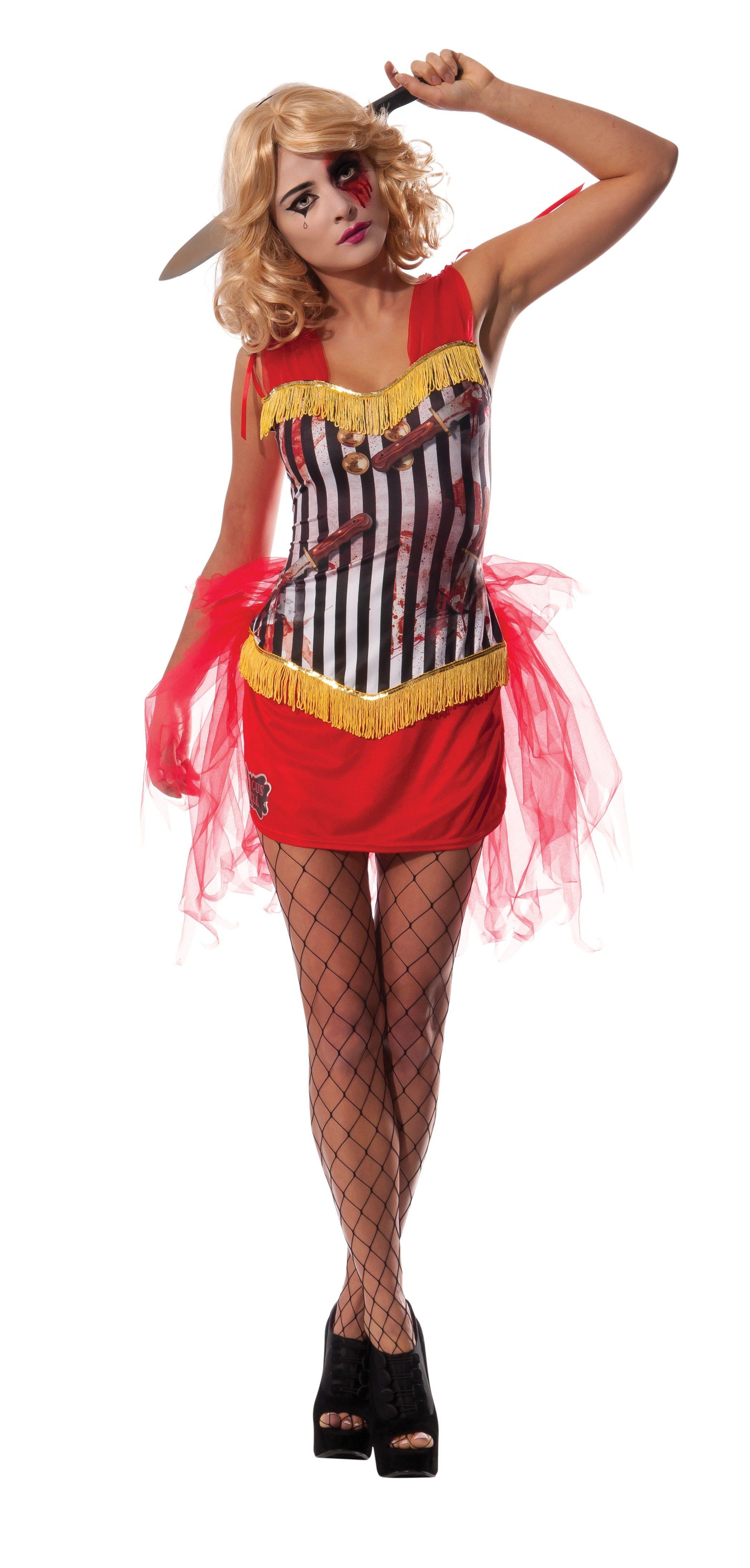 Circus Knife Thrower Costume Womens Size Medium (1014