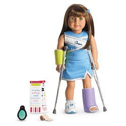 American Doll Camping Gear Crutches