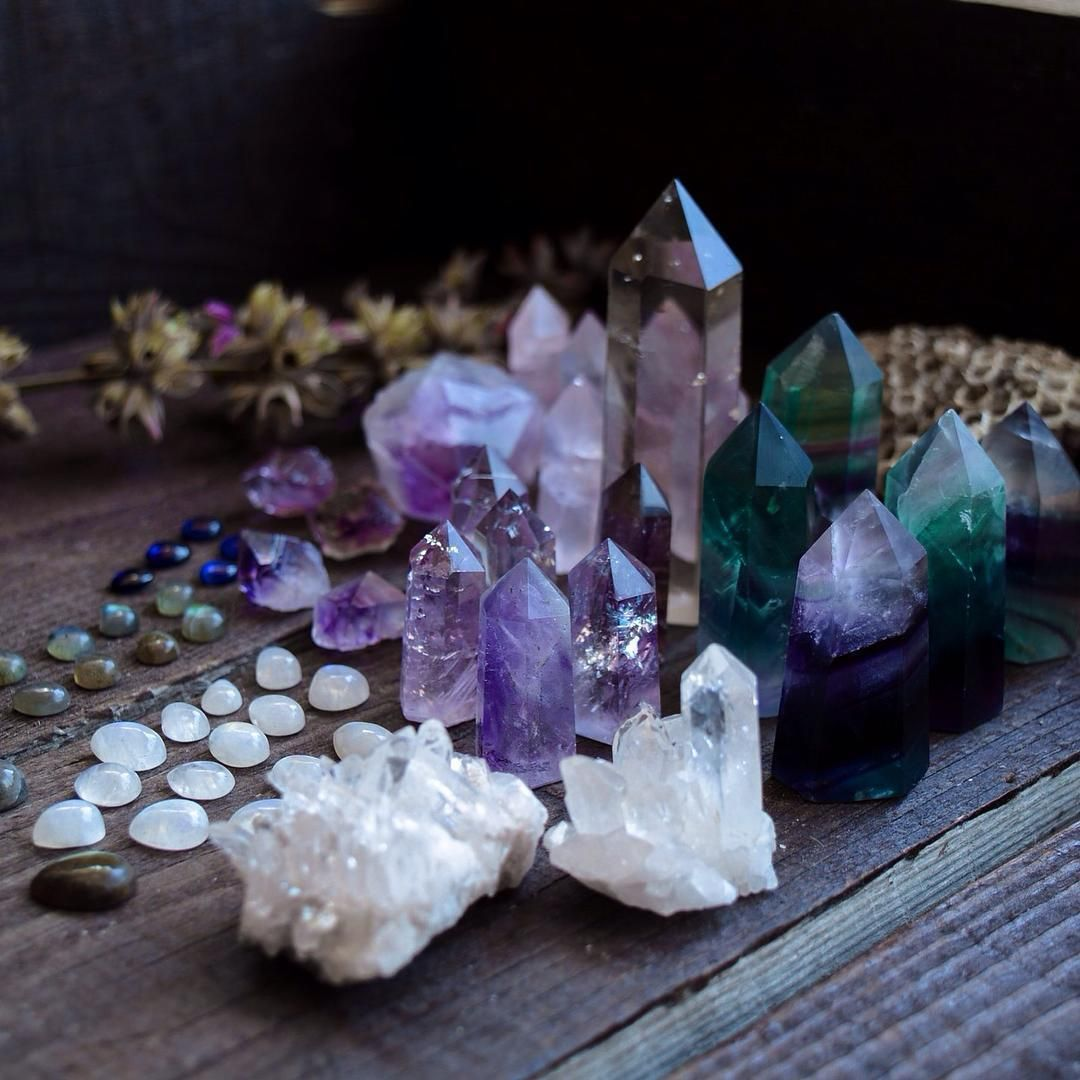 Craft of the Witch   Crystal aesthetic, Crystals, Crystal magic