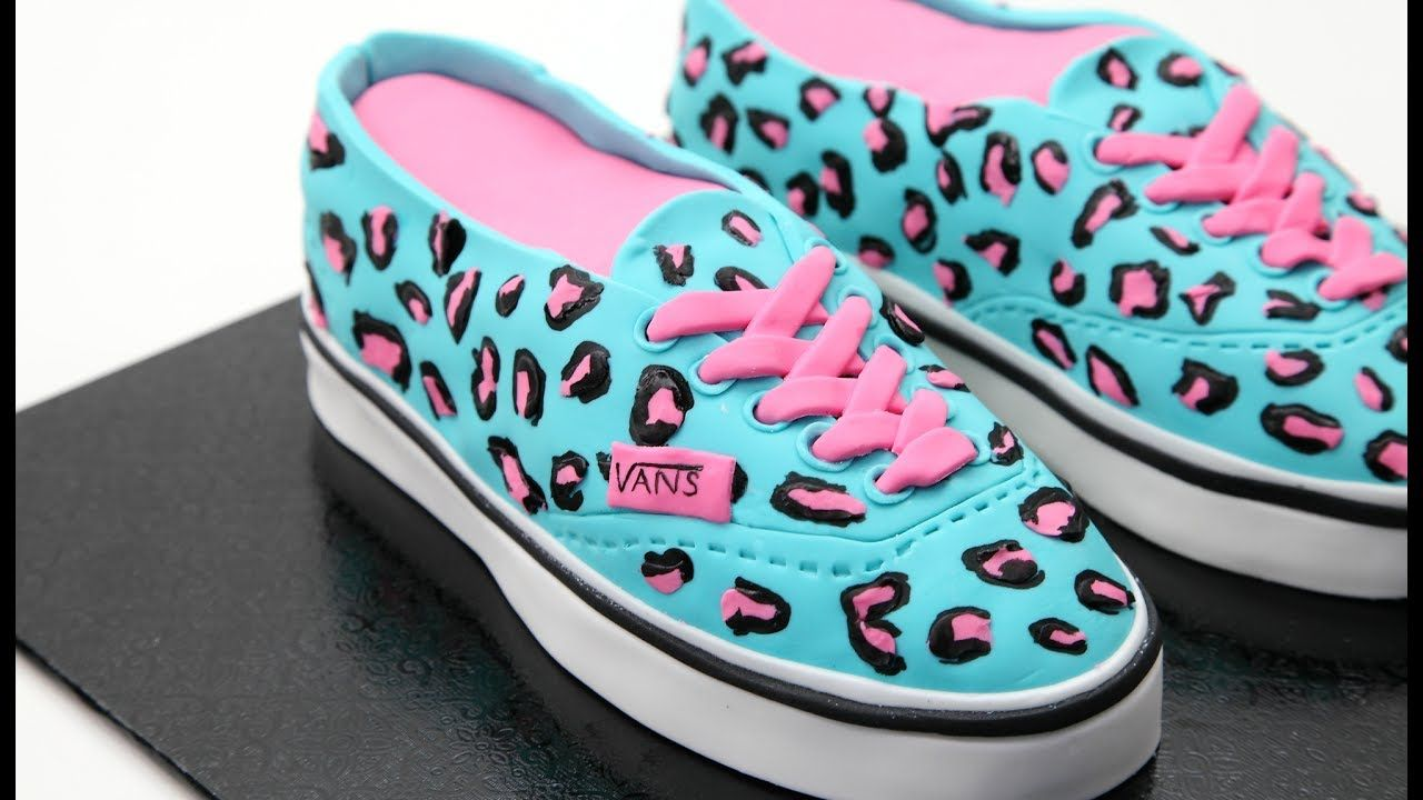 CAKE OR SHOES? Vans Kids Shoes | torty | Cake decorating