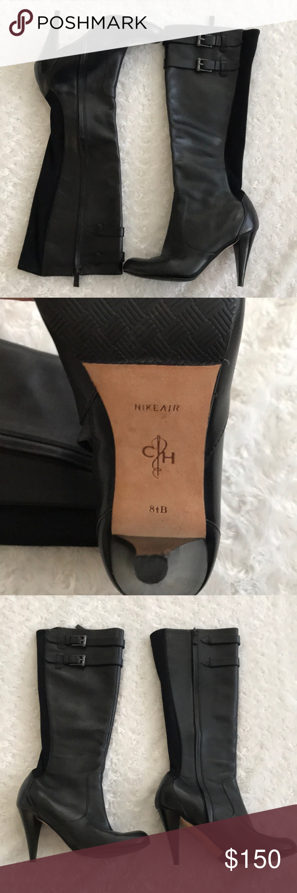 Cole Haan Nike Air women's boots! 8 1/2