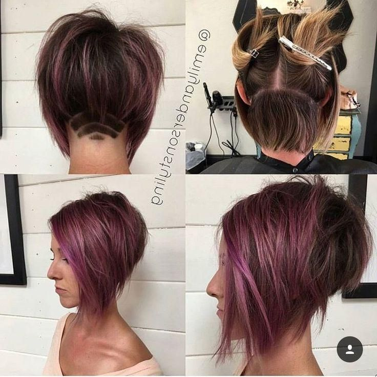 Best 25 Undercut Bob Ideas On Pinterest Short Hair Undercut Inside Long Hairstyles Shaved Underneath Bob Haircuts For Women Short Bob Haircuts Bobs Haircuts