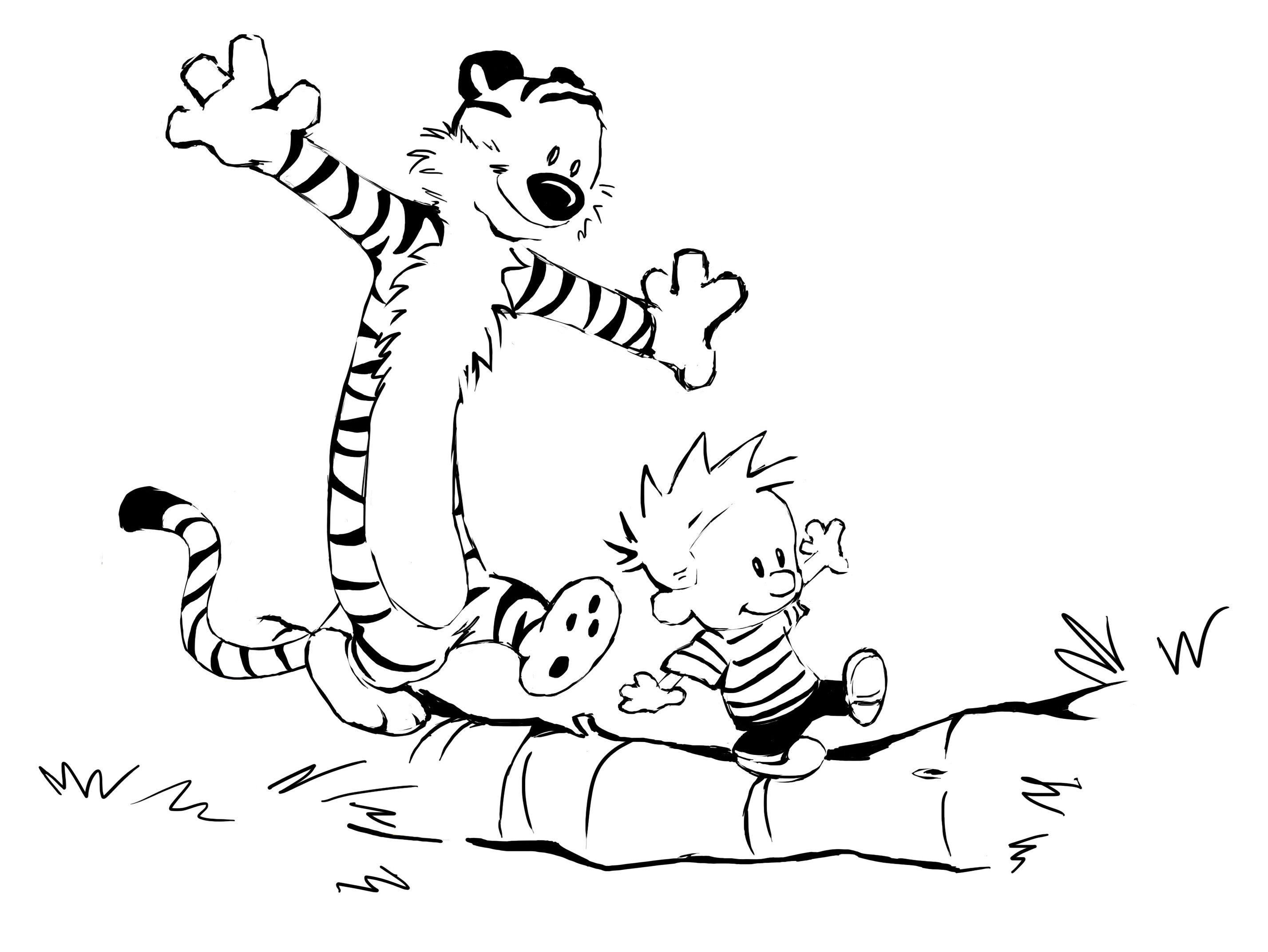 Calvin y Hobbes. Watterson. (2856×2144) | Bill Watterson | Pinterest ...
