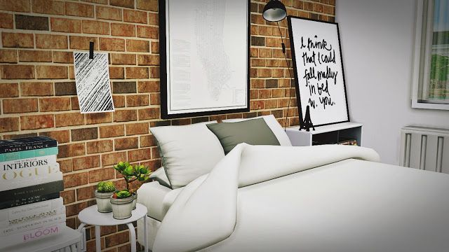 Sims 4 CC's - The Best: Bedroom Set 6 by MXIMS