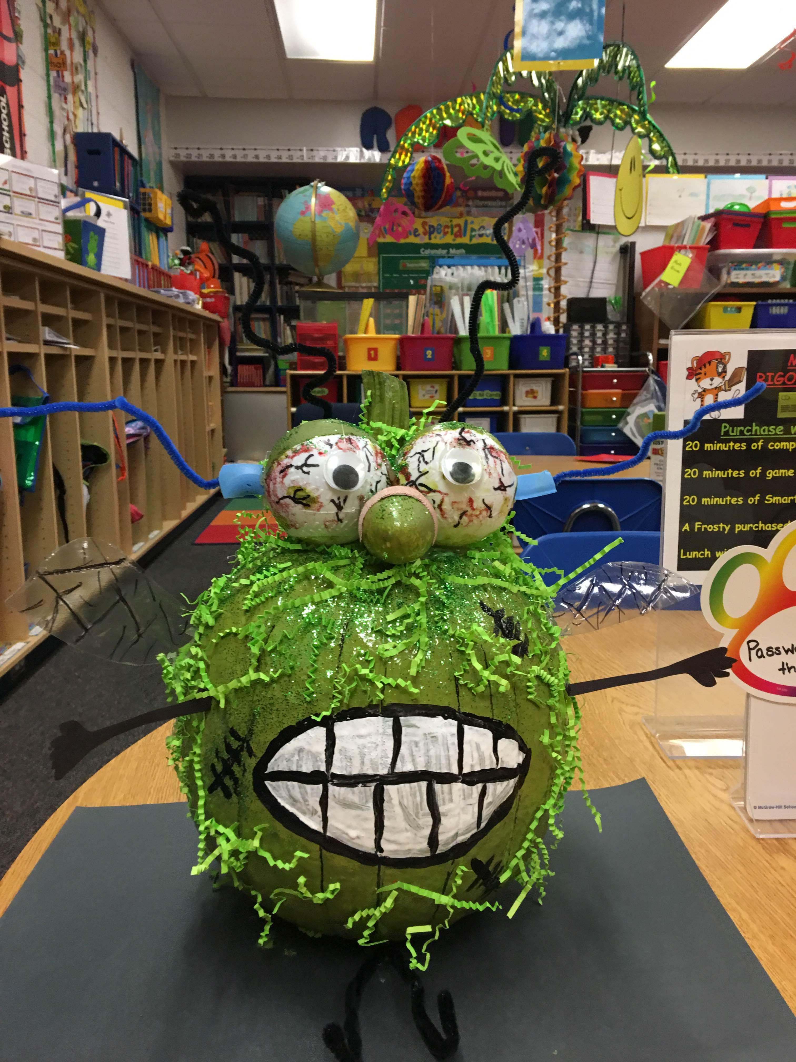 Fly Guy And The Frankenfly Pumpkin By Stephanie Mcvey And