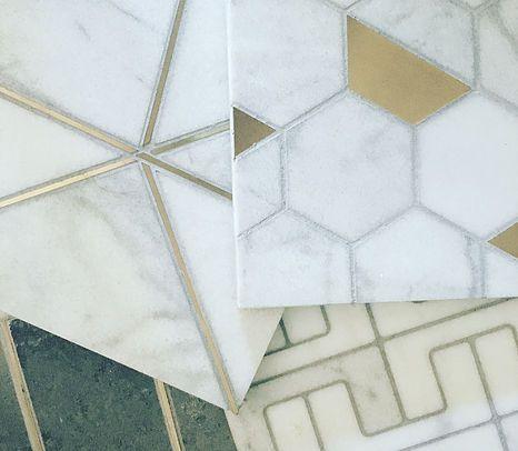 Martin Collection Modern Tiles Design Marble