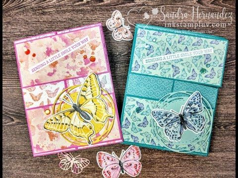 Butterfly Brilliance Fun Fold Stampin' Up!