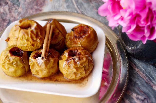 fun FOODIE fun: Manzanas asadas con miel y canela.
