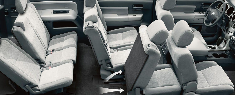 Toyota sequoia interior exterior photos