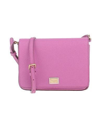 DOLCE   GABBANA Women s Cross-body bag Light purple -- --  48c91dfe0af4c