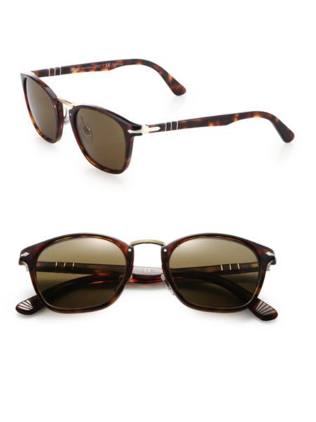 Persol - Phantos Suprema 51MM Polarized Sunglasses