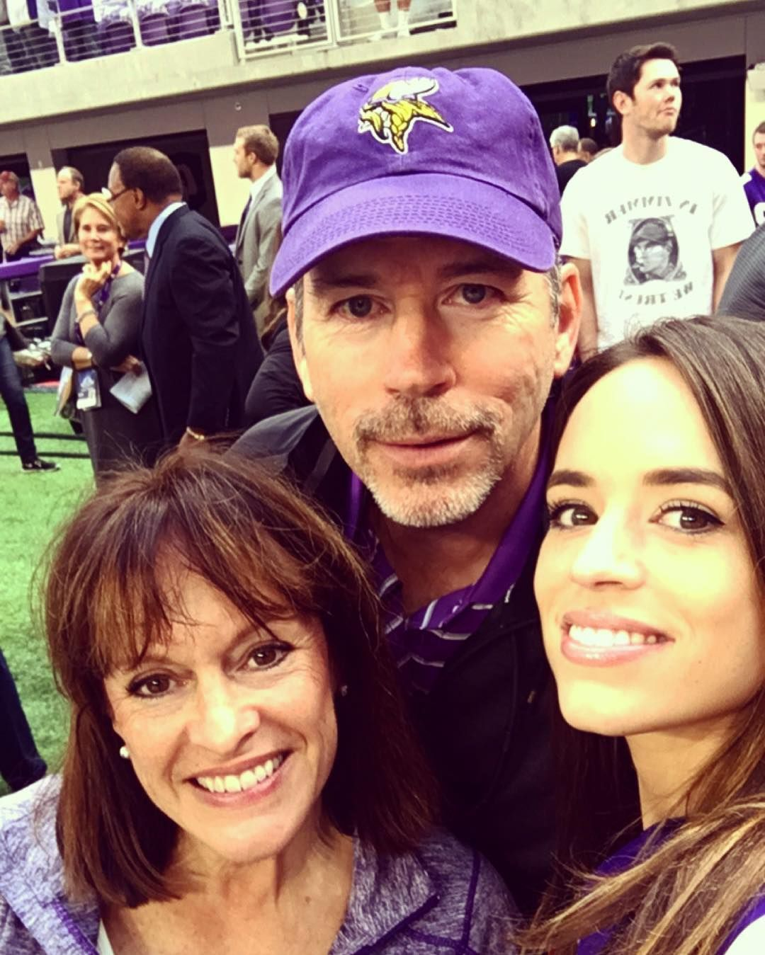 Harrison Smith s parents and sister
