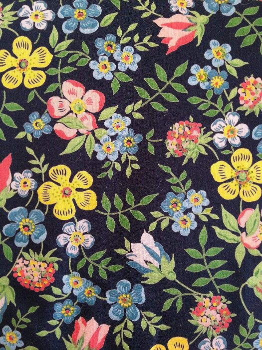 Liberty of London- I have three meters of this fabric. It is one of the most beautiful things I own.