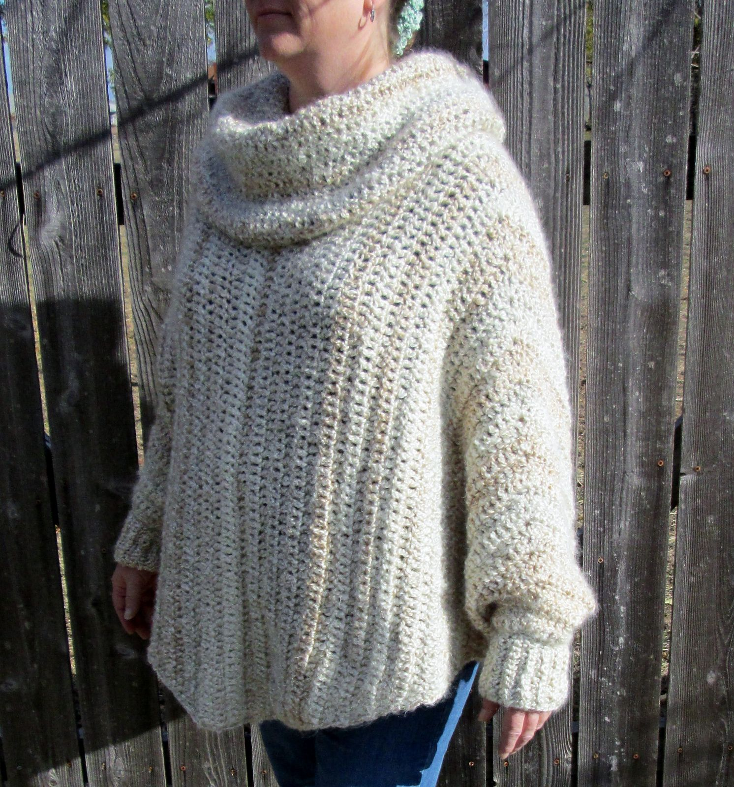 Recipe for a Cozy Poncho pattern by Cricket D