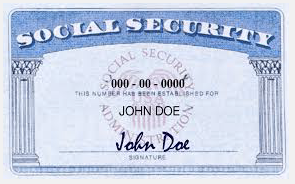 Top 5 Things To Do When You Lose Your Social Security Card Today We D Like To Help You Determine What Is N Social Security Card Card Template Global Education
