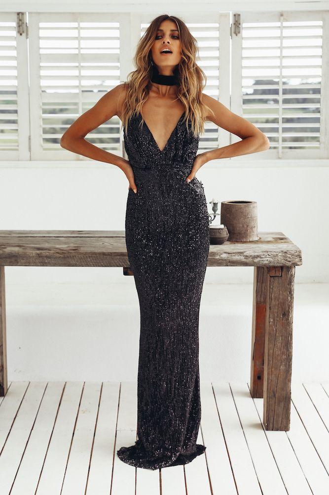House Of Fun Maxi Dress Black Formal Pinterest Maxi Dresses
