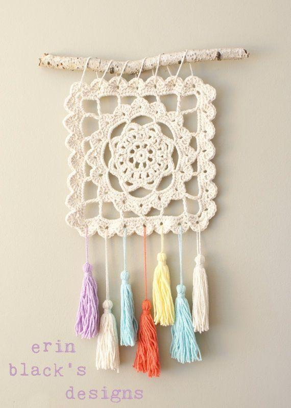 DIY Crochet Patrón soñando de abuela Granny Square por Midknits by ...