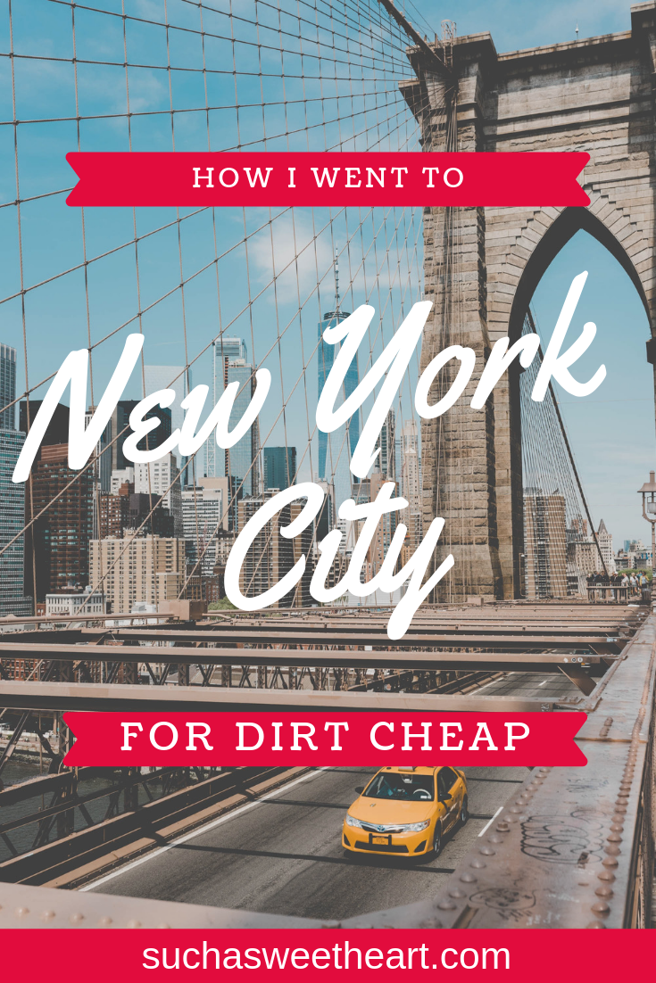 How to Travel to NYC on a Budget 2019 | NYC | New york city